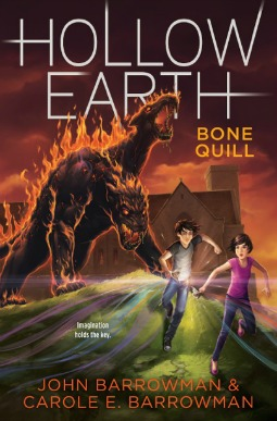 Cover of Hollow Earth: Bone Quill (US)