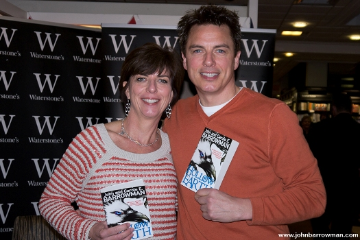 John and Carole at signing event 4 February