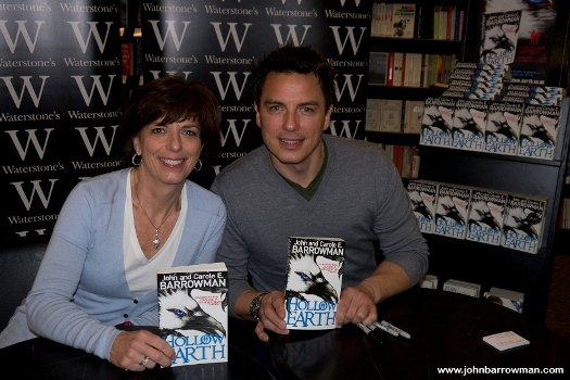 John and Carole at signing event 16 February