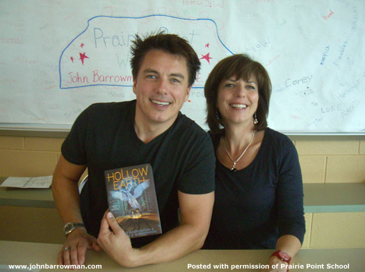 John and Carole at signing event October 2012