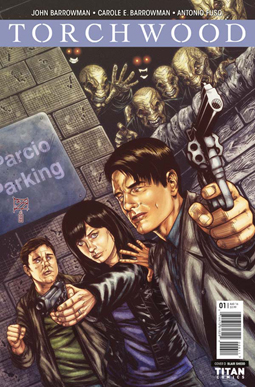 Cover of Torchwood comic