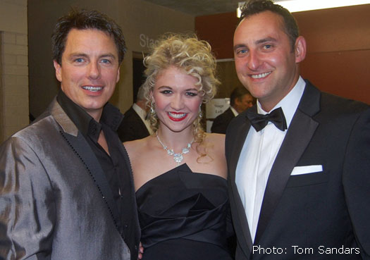 John with Scarlett Strallen and Matt Ford