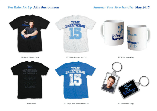 Preview of merchandise