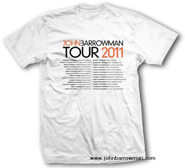 Concert Tour 2011 Merchandise - John Barrowman Official Site