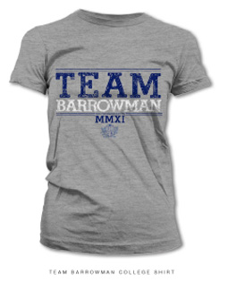 Team Barrowman t-shirt