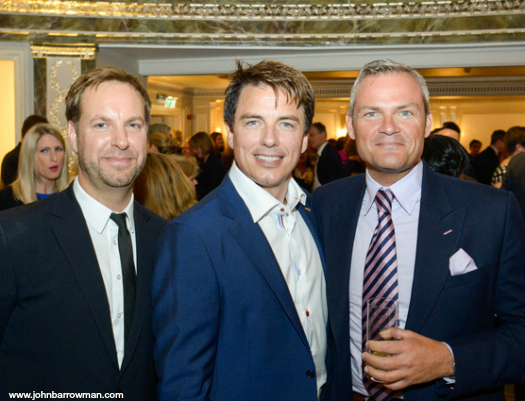 John, Gavin and Gavin Myall at the COPRA Awards