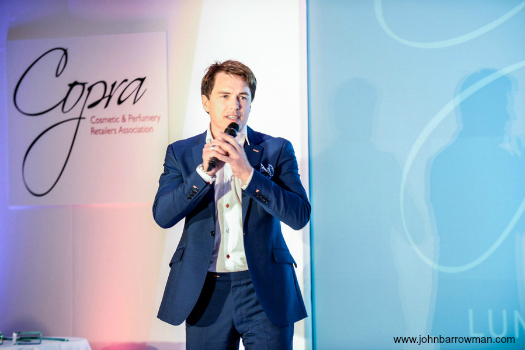 John performing at the COPRA Awards