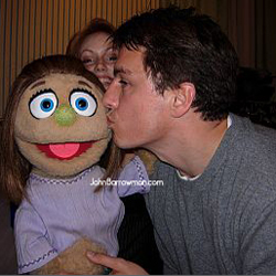 Kate Monster is quite taken with John