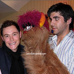 Burn Gorman with Simon Lipkin and Trekkie