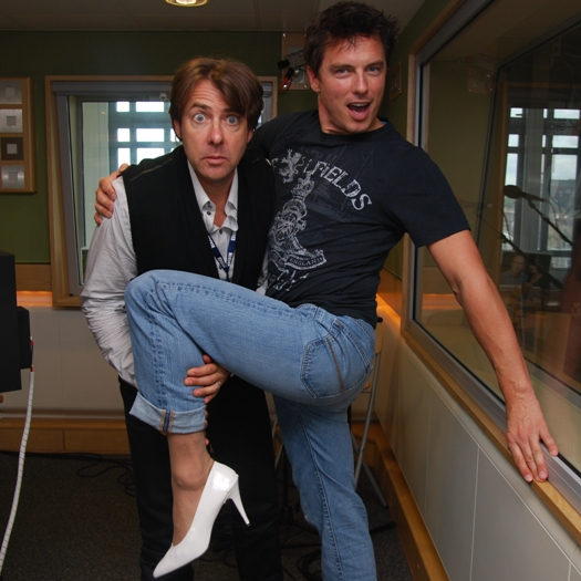 Jonathan Ross and John