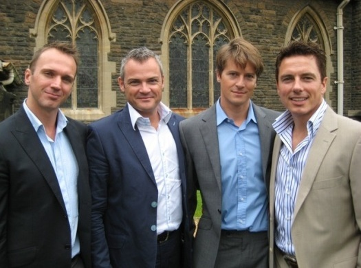 Stuart, Gavin, Scott and John