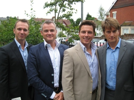 Stuart, Gavin, John and Scott