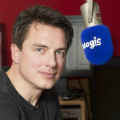 John in the Magic FM studio