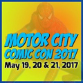 Motor City Comic Con logo