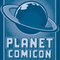 Planet Comicon logo
