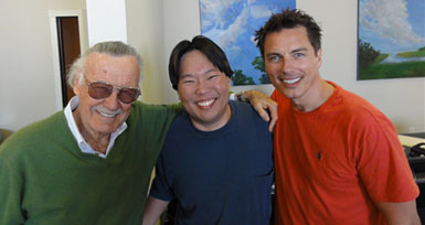 John with Stan Lee