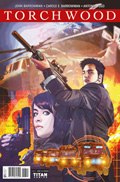 Torchwood comic cover image