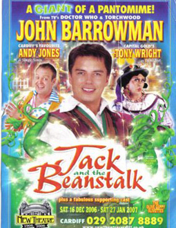 Poster for Jack and the Beanstalk