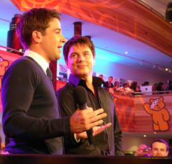 Gethin Jones and John