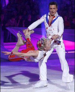 John and Olga in Dancing on Ice
